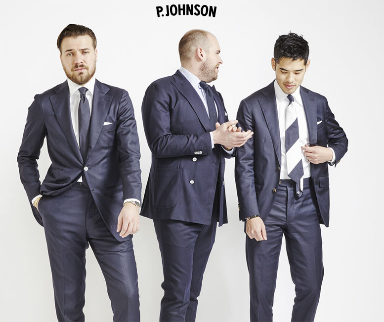 P.Johnson Tailors Collection  2017